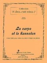 La Carpe et le Hanneton Pascal Proust Partition laflutedepan.com