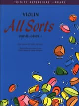 All Sorts – Violin - Mary Cohen - Partition - laflutedepan.com
