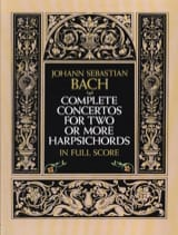 BACH - Complete Concertos for Two or More Harpsichords - Partition - di-arezzo.fr