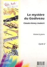Le Mystère du Godiveau Claude-Henry Joubert Partition laflutedepan.com
