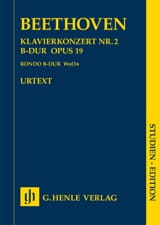 Klavierkonzert Nr. 2 –Partitur BEETHOVEN Partition laflutedepan.com