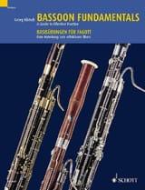 Bassoon Fundamentals - Basson Georg Klütsch Partition laflutedepan.com