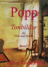 Tonbilder - Volume 1 Wilhelm Popp Partition laflutedepan.com