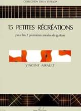 15 Petites Récréations Vincent Airault Partition laflutedepan.com