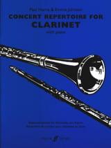 Concert repertoire for clarinet - laflutedepan.com