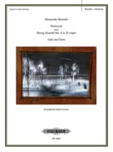 Nocturne – Cello - Alexandre Borodine - Partition - laflutedepan.com