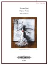 BIZET - Popular Pieces - Partition - di-arezzo.fr