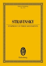 Symphonie in three movements - Igor Stravinsky - laflutedepan.com
