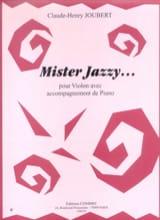 Mister Jazzy... Claude-Henry Joubert Partition laflutedepan.com