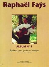 Raphael Faÿs - Album N ° 1 - Sheet Music - di-arezzo.com