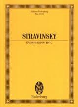 Symphony In C Igor Stravinsky Partition laflutedepan.com