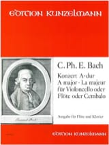 Konzert A-Dur für Flöte Carl Philipp Emanuel Bach laflutedepan.com