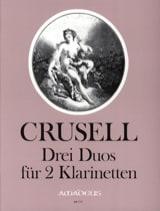 3 Duos - 2 Klarinetten Bernhard Henrik Crusell laflutedepan.com