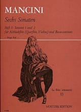 6 Sonaten - Heft 1 : Nr. 1 und 2 - Altblockflöte laflutedepan.com
