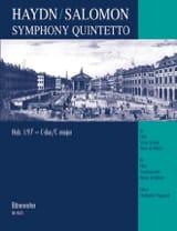 Symphony Quintetto Hob 1 : 97 C-Dur –Partitur + Stimmen - laflutedepan.com