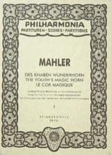 Des Knaben Wunderhorn - Band 1 - Partitur laflutedepan.com