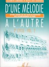 D'une mélodie à l'autre – Volume 2 - 2ème Cycle laflutedepan.com
