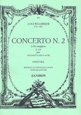 Concerto n° 2 Cello, ré maggiore G. 479 BOCCHERINI laflutedepan.com