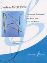 2ème Morceau de concert op. 61 Joachim Andersen laflutedepan.com
