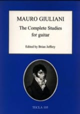 Mauro Giuliani - The Complete Studies For Guitar - Partition - di-arezzo.fr