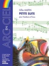 Petite suite Gilles Martin Partition Hautbois - laflutedepan.com