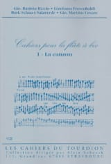 - Cahiers For the Recorder - N ° 1: Canzon - Sheet Music - di-arezzo.co.uk
