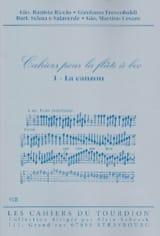 Cahiers Pour la Flûte à Bec - N° 1 : la Canzon laflutedepan.com