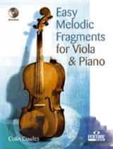 Easy Melodic Fragments - Viola Colin Cowles laflutedepan.com