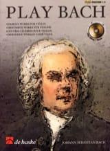 Play Bach BACH Partition Violon - laflutedepan.com