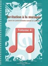 Jean-François Alexandre - Invitation A la Musique - Volume 4 - Partition - di-arezzo.fr