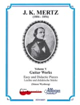 Guitar works – Volume 5 : Easy and didactic pieces laflutedepan.com