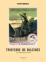 Jules Massenet - Sadness of Dulcinea, extr. from Don Quichotte - Sheet Music - di-arezzo.com
