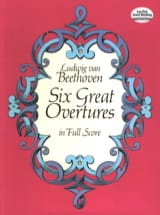 6 Great Overtures - Full Score BEETHOVEN Partition laflutedepan.com
