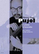 5 Piezas Artesanales Maximo Diego Pujol Partition laflutedepan