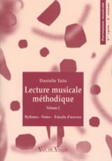 Danielle Taitz - Lecture Musicale Méthodique Vol.2 - Partition - di-arezzo.fr