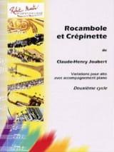 Rocambole et Crépinette Claude-Henry Joubert laflutedepan.com