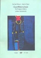 Braun Gerhard / Wurz Hanns - Querflötenschule - Lehrer- / Schülerheft - Partitura - di-arezzo.es