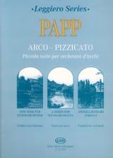 Arco-Pizzicato Lajos Papp Partition ENSEMBLES - laflutedepan.com