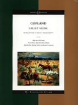 Ballet Music - Conducteur Aaron Copland Partition laflutedepan.com
