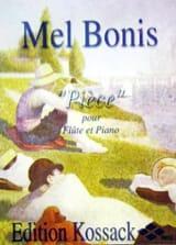 Pièce Mel Bonis Partition Flûte traversière - laflutedepan.com