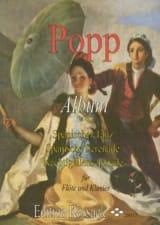 Album - Flöte Klavier Wilhelm Popp Partition laflutedepan.com