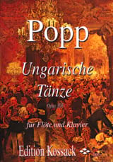 Wilhelm Popp - Ungarische Tänze op. 308 - Sheet Music - di-arezzo.co.uk