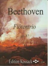 Flötentrio Op. 87 Ludwig van Beethoven Partition laflutedepan.com