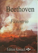 BEETHOVEN - Flötentrio Op. 87 - Partition - di-arezzo.fr