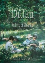Andante et Mazurka Alexandre Dufau Partition laflutedepan.com