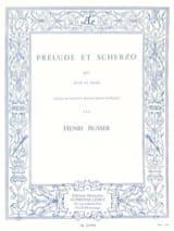 Henri Busser - Prélude et Scherzo op. 35 - Partition - di-arezzo.fr