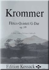 Flötenquintett G-Dur op. 109 – Partitur + Stimmen laflutedepan.com
