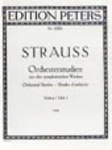 Richard Strauss - Orchesterstudien Violine - Bd. 1 - Partitura - di-arezzo.es