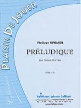 Préludique - Philippe Oprandi - Partition - laflutedepan.com