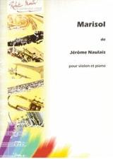 Jérôme Naulais - Marisol - Partition - di-arezzo.fr